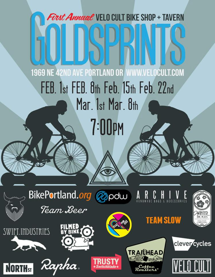 Velo Cult: First Annual Goldsprints