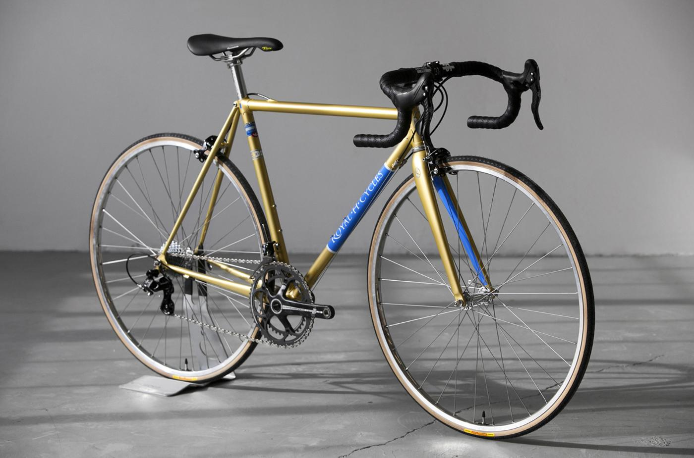 Royal H Frames: A Road Bike's Road Bike