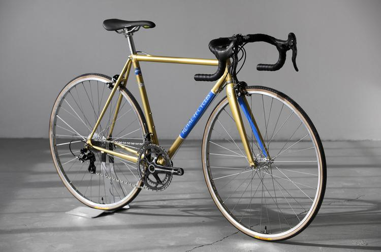 Royal H Frames: A Road Bike's Road Bike