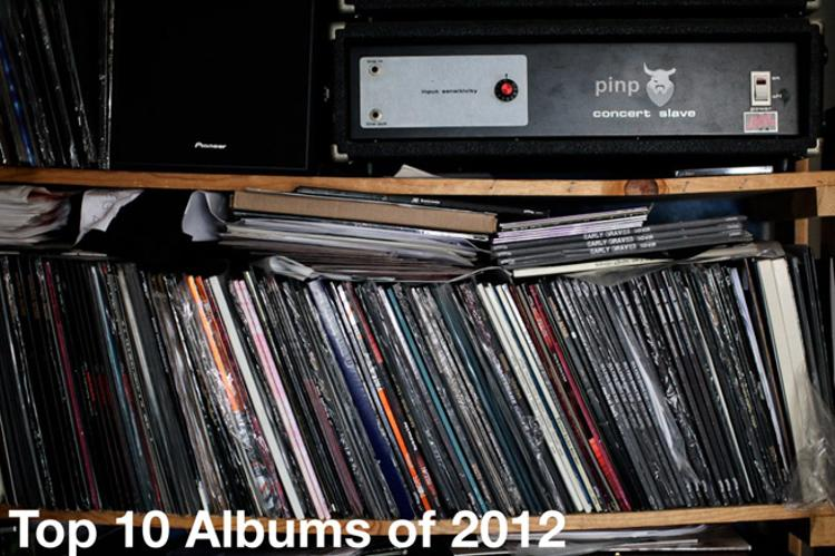 The PiNP Concert Slave Top 10 Albums of 2012