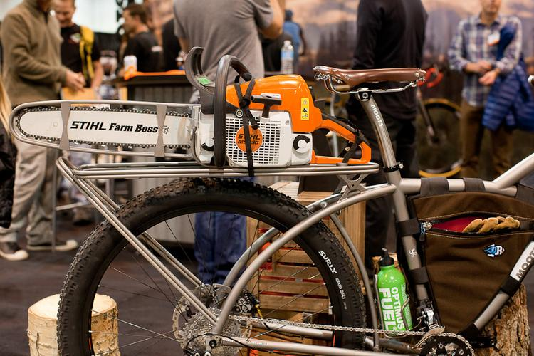 2013 NAHBS: Moots Trail Clearer
