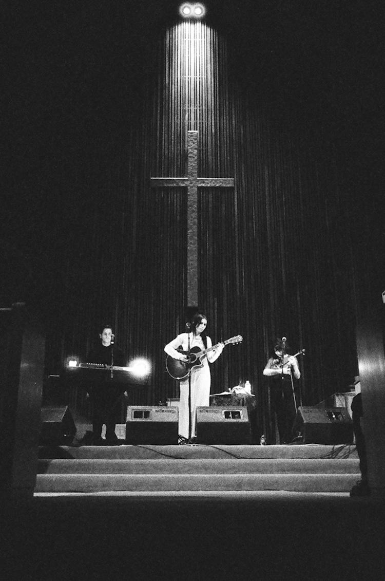 Recent Roll: Chelsea Wolfe at the Austin Central Presbyterian Church