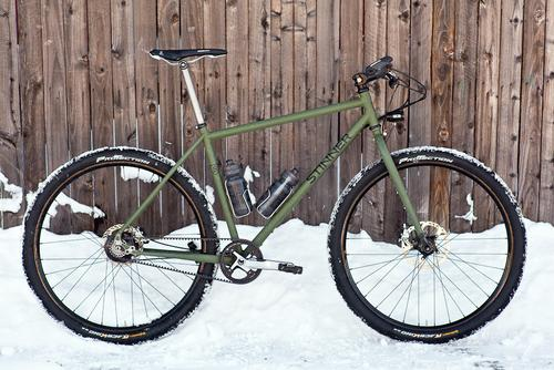 Beautiful Bicycle: Ty's Stinner Ride the Divide Rohloff 29'r