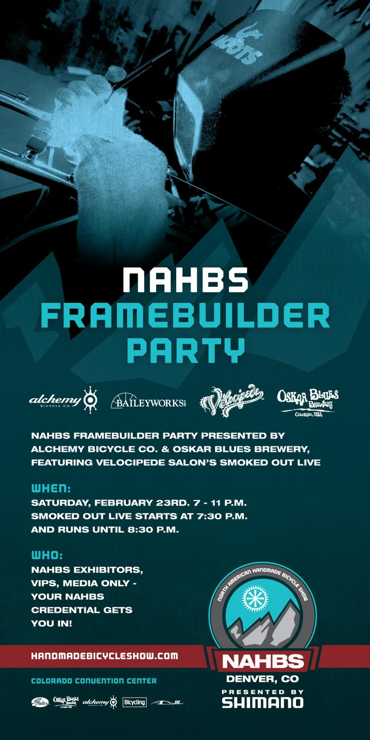 The 2013 NAHBS Framebuilder Party