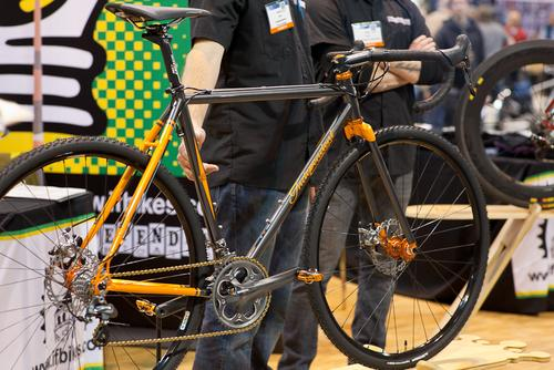 Indy Fab's steel disc cross broke necks all weekend, and someone's bank account!