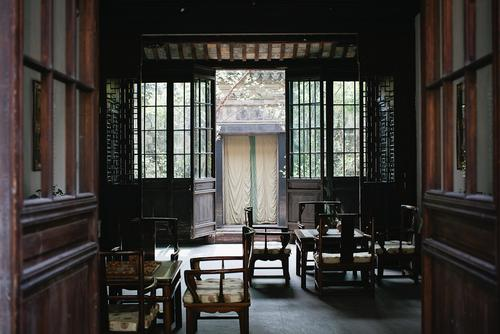 One of the many old town hotels in Suzhou.