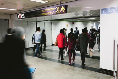 The Shanghai subway is the largest in the world.