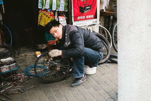 Where you can get a wheel build or a derailleur adjusted.