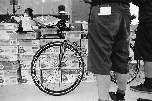 Pearl Velo Mile High Messenger Challenge checkpoint.