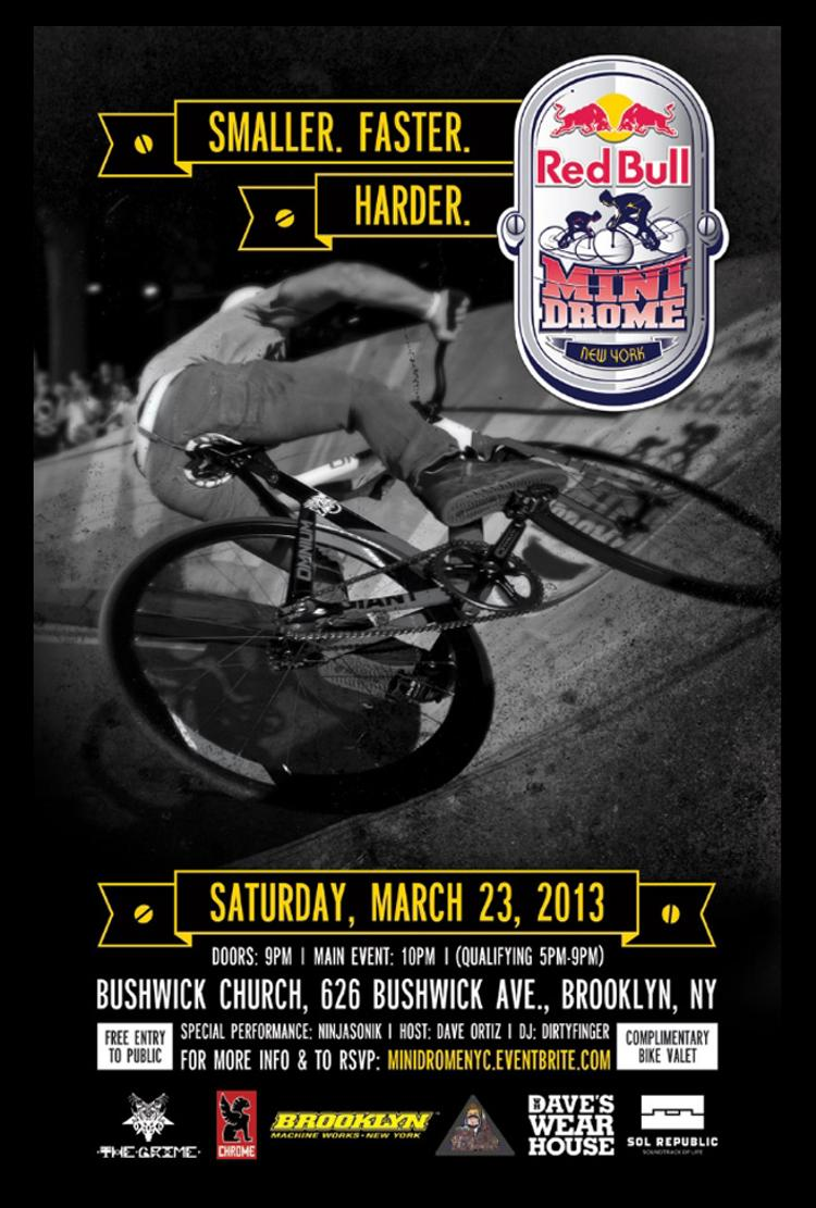 The Red Bull Mini Drome is Coming to Brooklyn