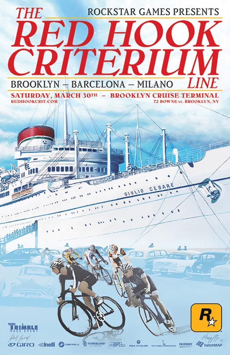 The 2013 Red Hook Criterium Alternate Poster