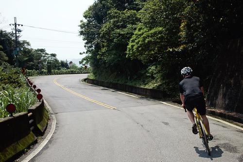 But before we knew it, we were on our bikes, climbing up the mountain pass.