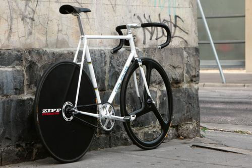 Beautiful Bicycle: 531 Cecil Walker Track with Zipp