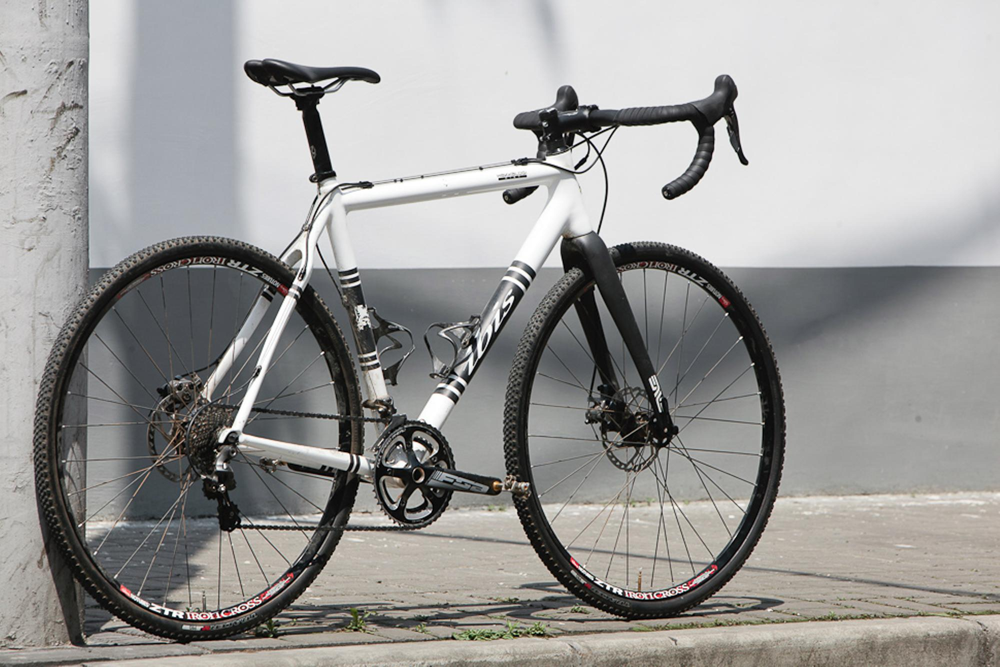 Beautiful Bicycle: James' Ibis Hakkalügi Disc Cross