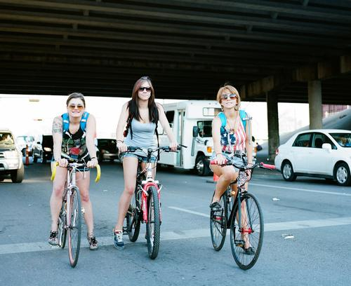 The BEST way around Austin during SxSW is by bicycle.