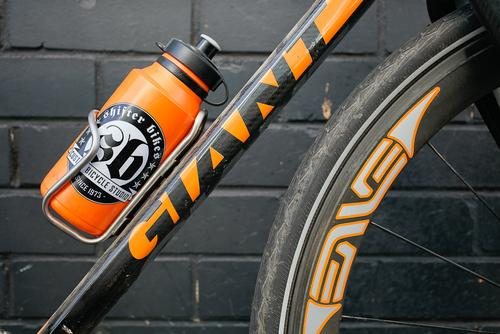 Dan's customized Giant cross bike.