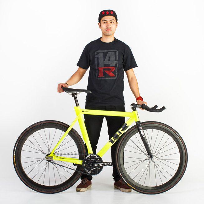 Mikey Ramirez for 14 Bike Co