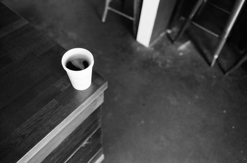 Afternoon Cup at Flat Track Coffee