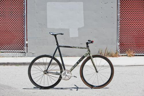 Beautiful Bicycle: Kevin's Cinelli Mash Track Bike