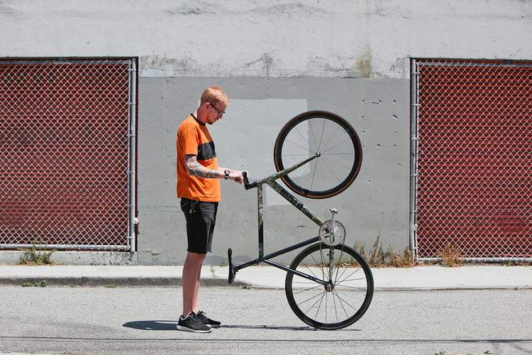 Kevin's Cinelli Mash Track Bike