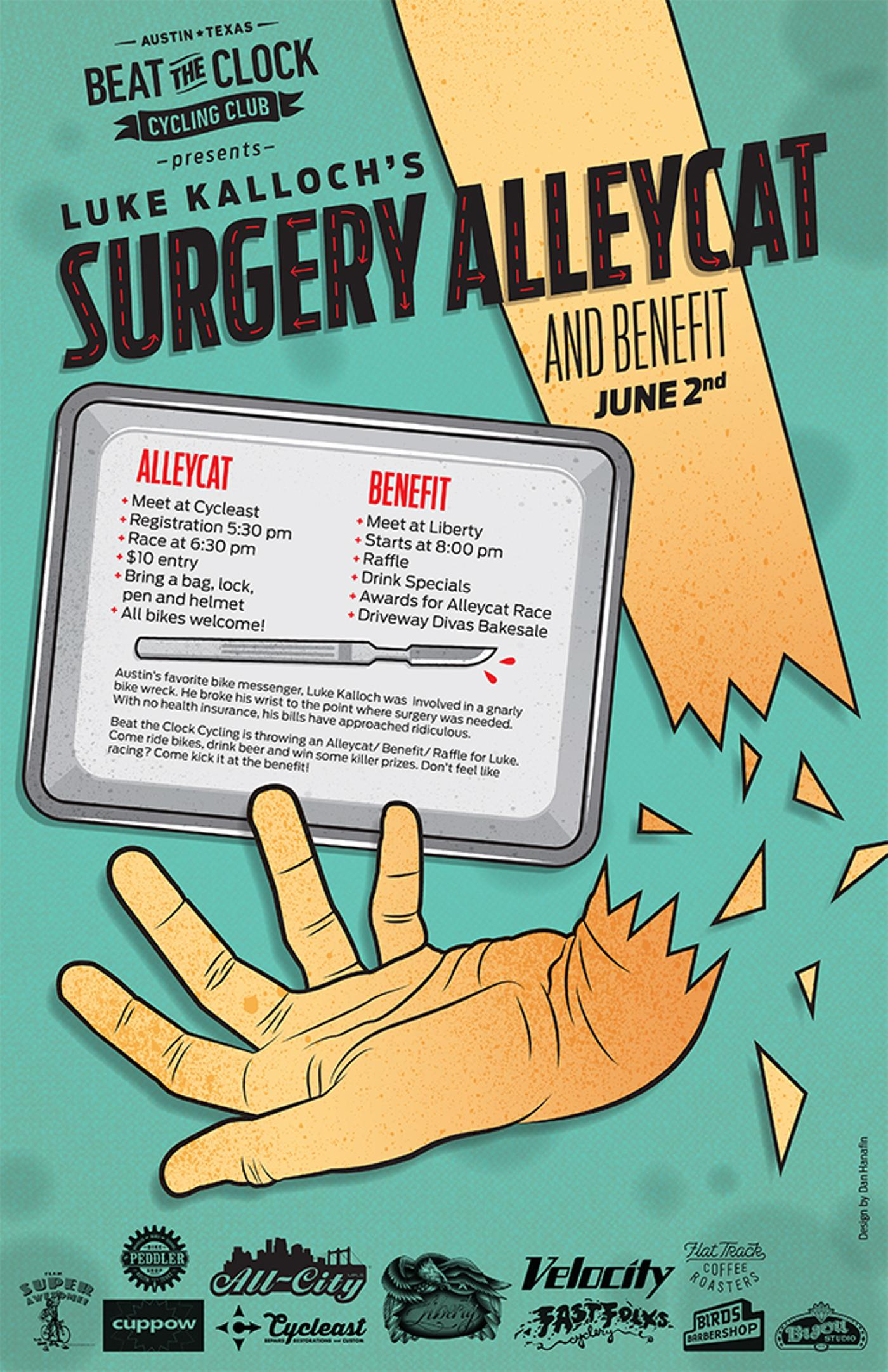 This Weekend in Austin: Luke's Surgery Alleycat