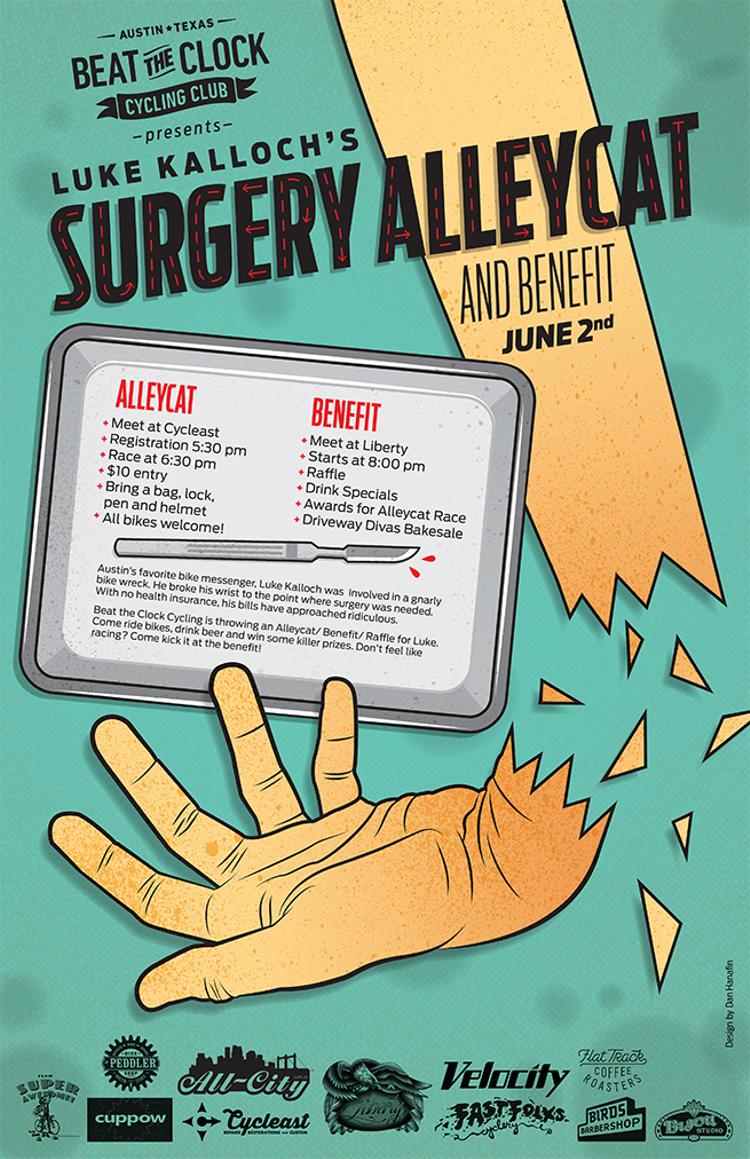 This Weekend in Austin: Luke's Surgery Alleycat