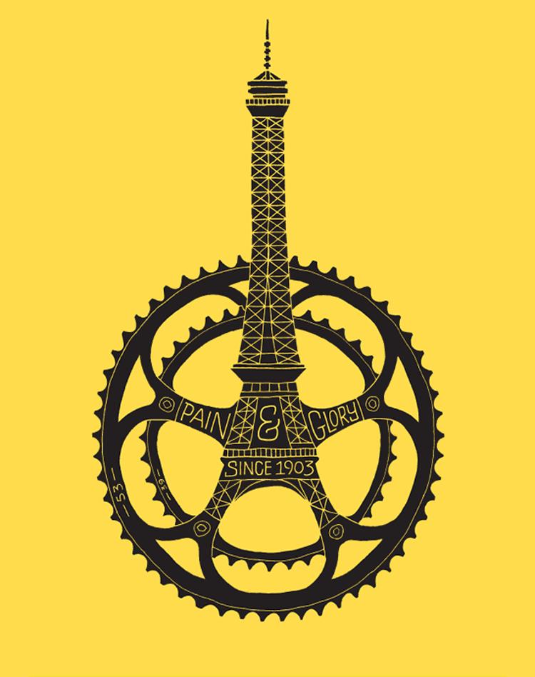 Dave Foster's Tour de France Design