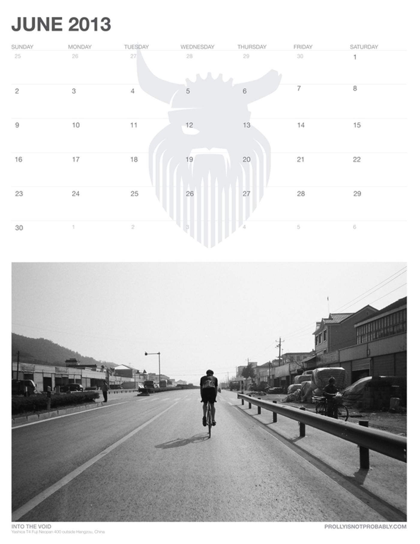 The 2013 PiNP Calendar: June