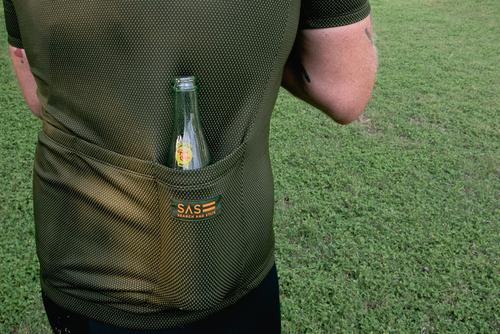Even being race-fit, the pockets will hold the essentials.