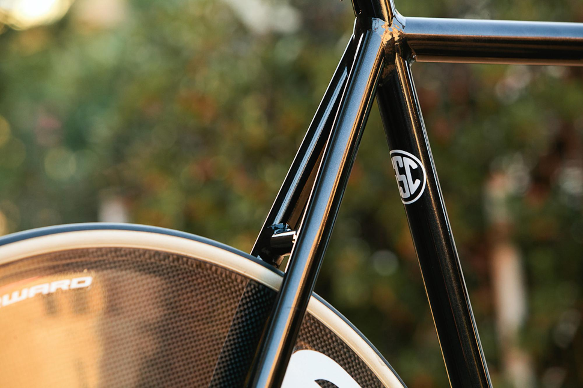 Beautiful Bicycle: Woody's All-City Thunderdome Track
