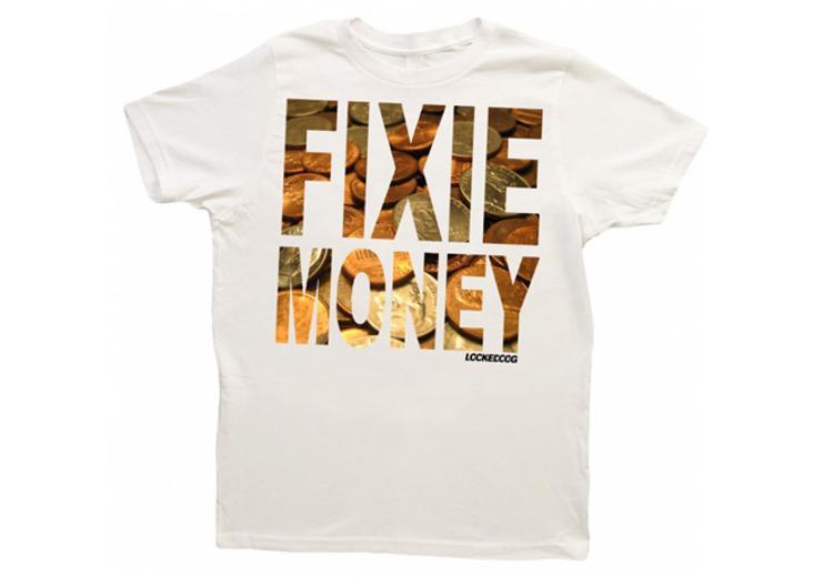 Locked Cog: Fixie Money Tees