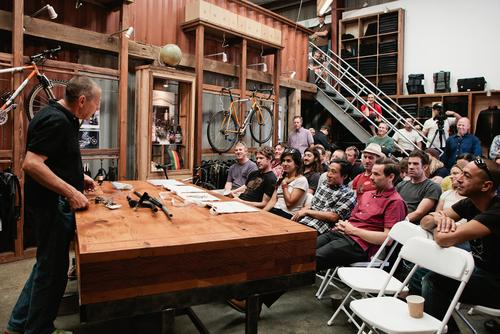 Event Recap: Ask a Founder with Keith Bontrager at Mission Workshop