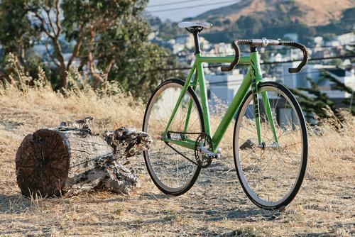 Beautiful Bicycle: Chas' Mash Cinelli Prototype