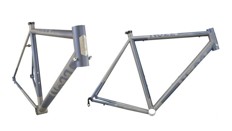 No 22: Made in The USA Titanium Road and Track Frames