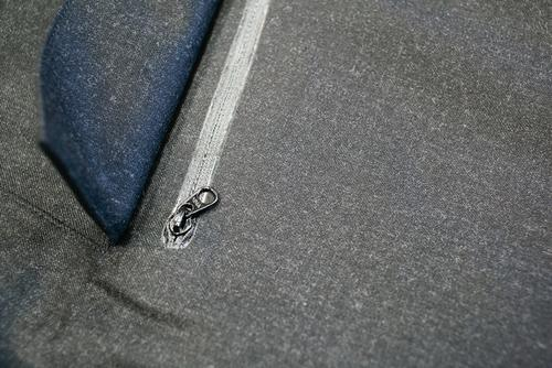 Details on the Eiger field jacket.