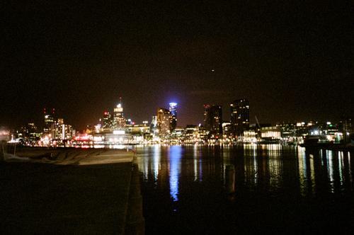 Melbourne at night....