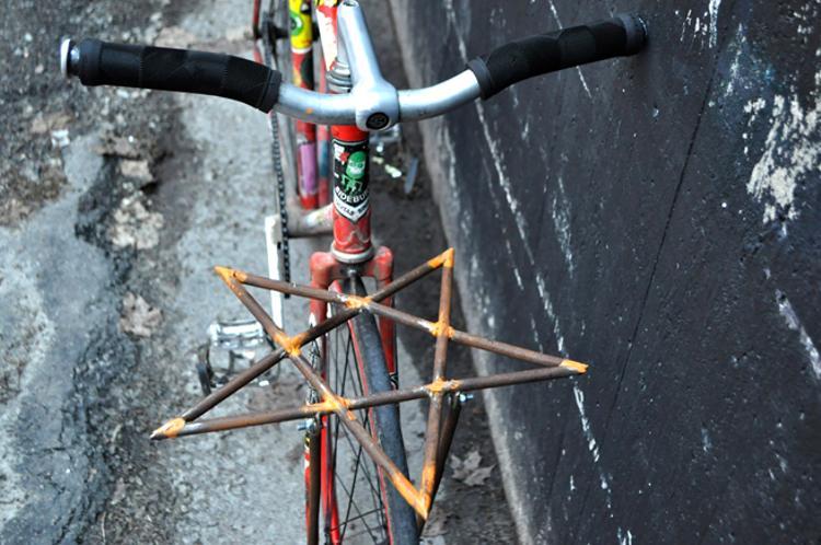 Tobias Björklund's Pentacle Porteur Rack