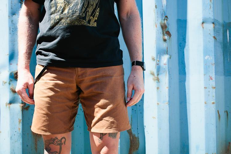Review: SWRVE BLK Japanese Canvas Trouser Shorts