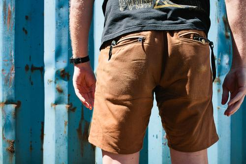 A Short Review with SWRVE's BLK Japanese Canvas Trouser Shorts