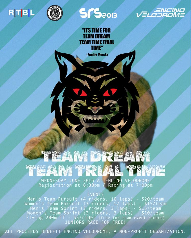 The Team Dream Team Time Trial TIme Tonight in Los Angeles