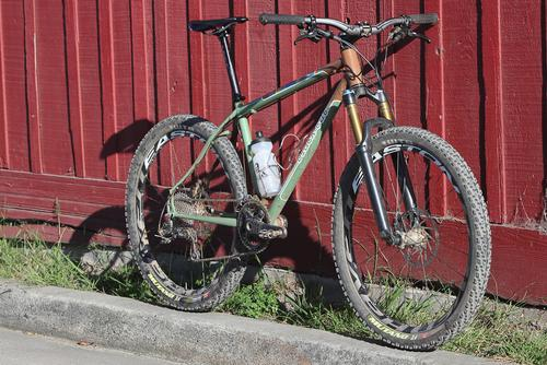 Beautiful Bicycle: Brian Vernor's Black Cat Hardtail MTB