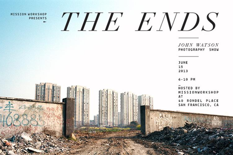 "Mission Workshop Presents ""The Ends"" My Show Tonight!"