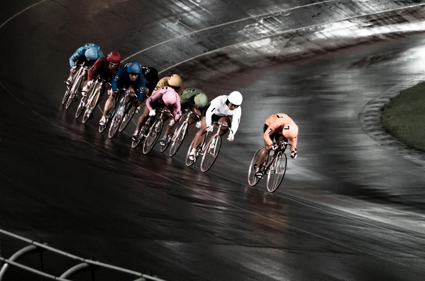 Japanese KEIRIN (競輪) Night race
