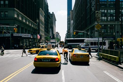 There is no rush like riding in NYC.
