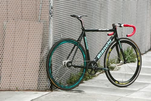 Beautiful Bicycle: Ray's 2004 Bianchi Concept Track