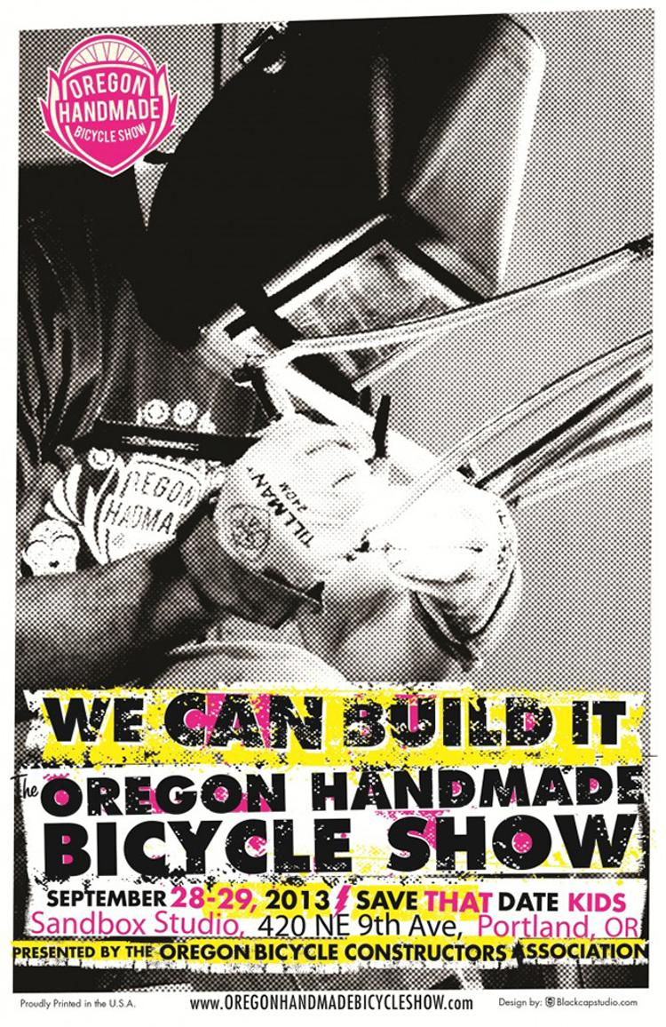 The 2013 Oregon Handmade Bicycle Show