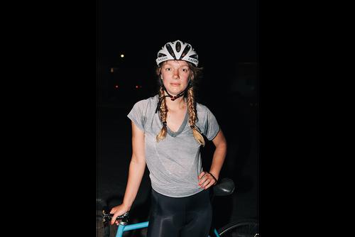 Post-race portrait