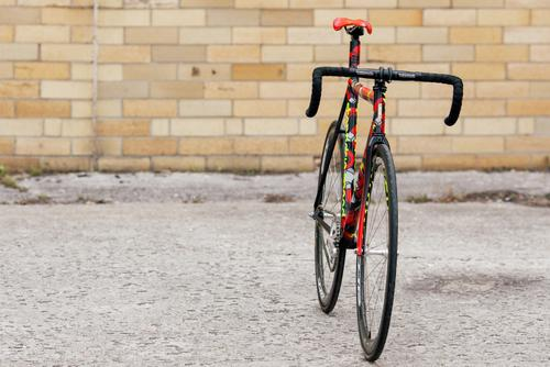 Beautiful Bicycle: Stanridge Speed x Death Spray Custom Highstreet Track