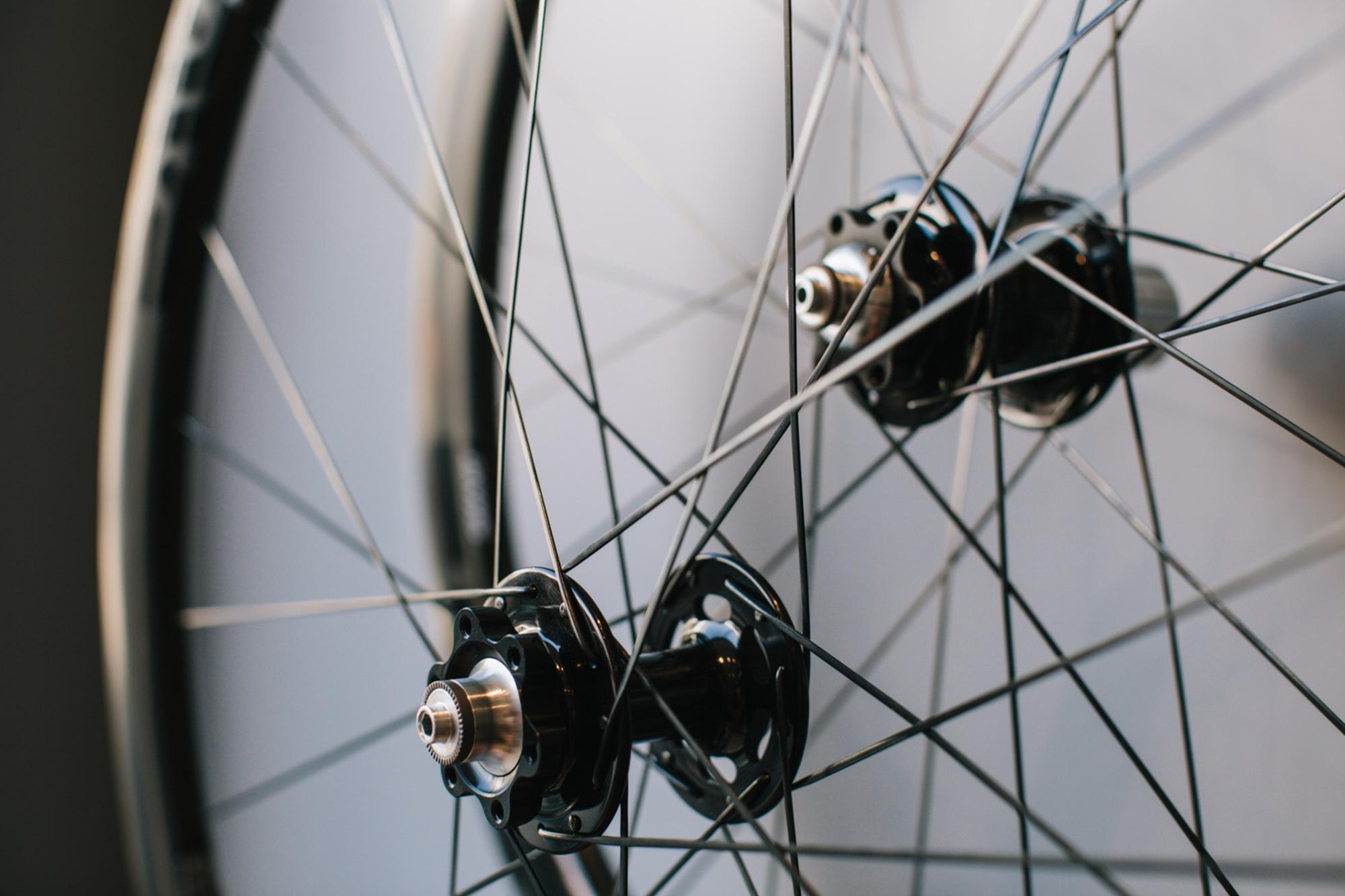 New ENVE Chris King disc wheels