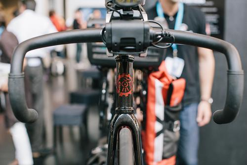 They put touring bike parts on a Rosko track bike - EUROBIKE WTF?!?!?!?!?!